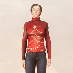 Christmas Tree Turtleneck
