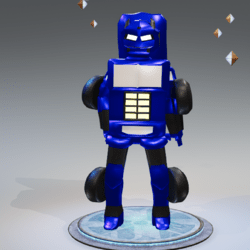 FG Transformer Blue