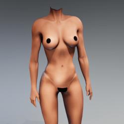 Kismet Body 2B (UPDATED) by Apocalypse Bunnies