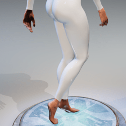 Hands and feet for Kismet body (wet version)