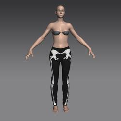 Spooky Skeleton Leggings