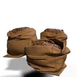 Fall leaves Sacks