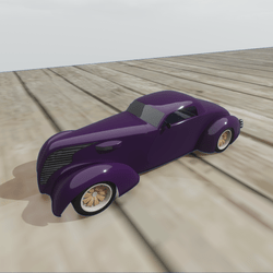 Hotrod - Purple