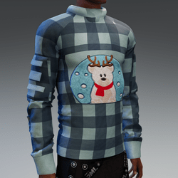 Sweater with Snowbear