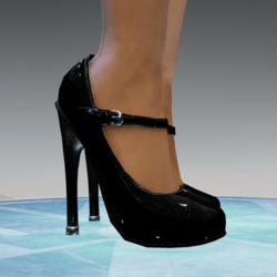 Mary Jane with High Heels for Alina-Daisy