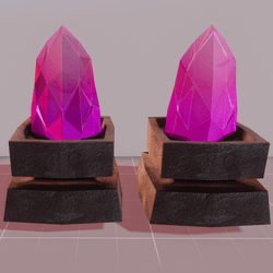 MMO Pink Crystals