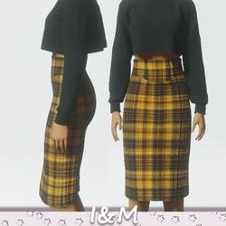 wool pencil skirt 7