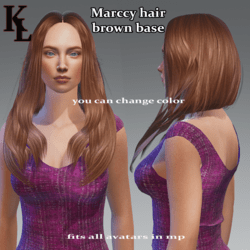 Marccy -brown base color