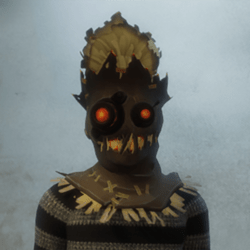 [M] Hayseed Mask (Top) - Ears