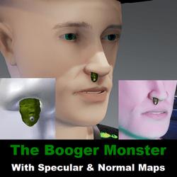 The Booger Monster