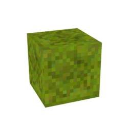 SanCrafter Base Block  - Grass / Greenery