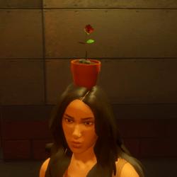 Flower pot female