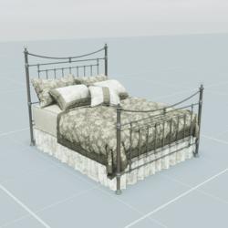 Antique Bed 3.1