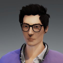 Hair Mesh for male