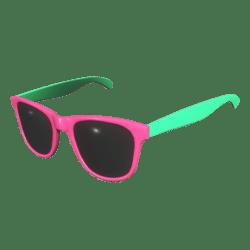 Sunglasses Pink Green - Male