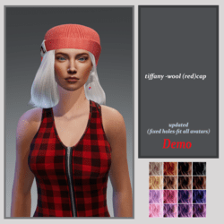 Tiffany wool cap -updated-demo