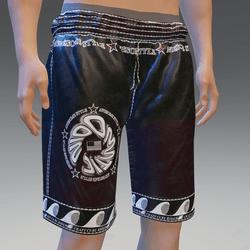 CCR Black Surfing Shorts w/Back Pocket - Male