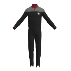 Star Trek DS9 Replica for roleplay RED