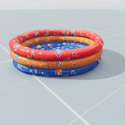 Triple Balloon Pool
