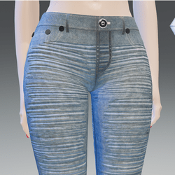 Blue-O Jeans Vintage Stressed - Female