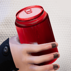 Bottle c-red in arm