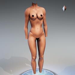Kismet Body 3B with wet skin by Apocalypse Bunnies