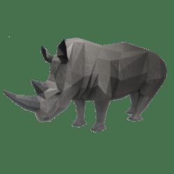 Standing Rhinoceros