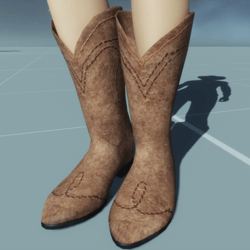 Cowgirl Boots SUEDE LEATHER