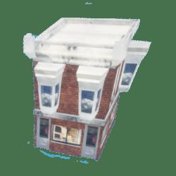 Citiezen House Pillar - Deco - no walkable
