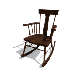 Rocking chair [Animated w/sit point]