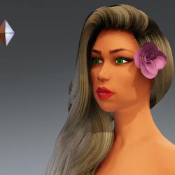 Rose for Hair #1