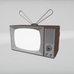 Media enabled retro TV