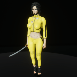 Super assassin leather outfit