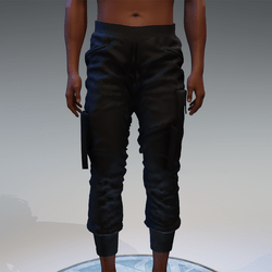Cargo Pants for male in black