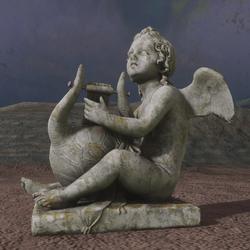Bertel Thorvaldsen,  Cupid Playing the Lyre