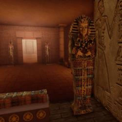 Egyptian sarcophagus