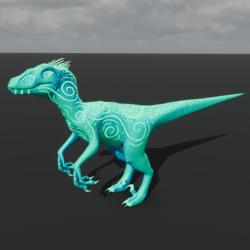 Aqua Fairy Raptor Avatar