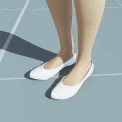 Stylish Classic High Heel Shoes WHITE