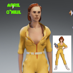 April O'Neil jumpsuit - Female