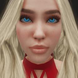True Blue Eye Contacts