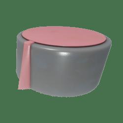 Pink-topped Knob