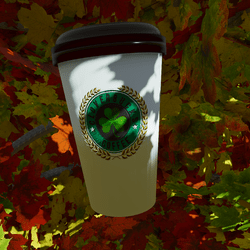 Cloverbucks Coffee To-Go Cup