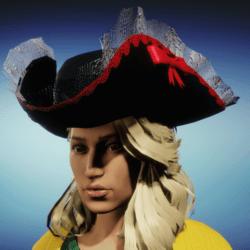 Female Pirate Hat R3d