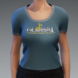 Global Music Festival T-Shirt - Female