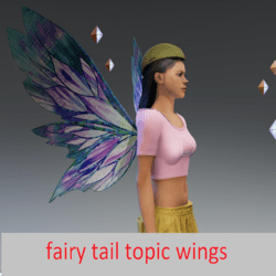 fairy tail topic wings