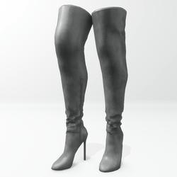 """""""Alina - Daisy"""" and Nicci avatar boots - grey"""