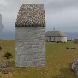 Highland Cottage Kit: Plain Side
