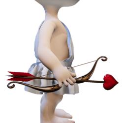 Cupid Bow & Arrow for Minis