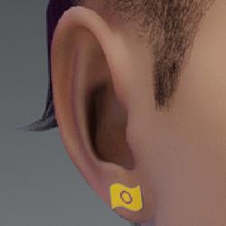 pride earrings intersex