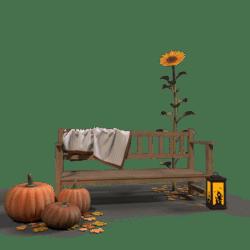 Halloween Bench